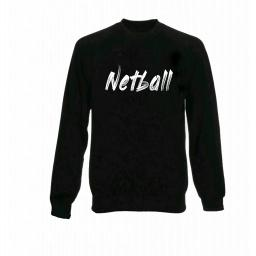Womens Netball Jumper - White