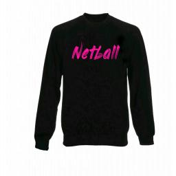 Junior Netball Jumper - Pink