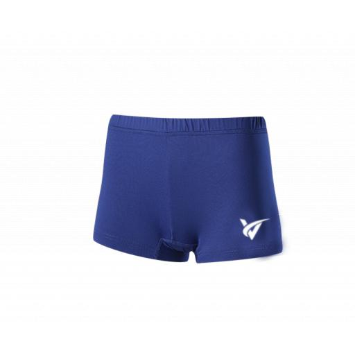 Junior Netball Undershorts - Blue