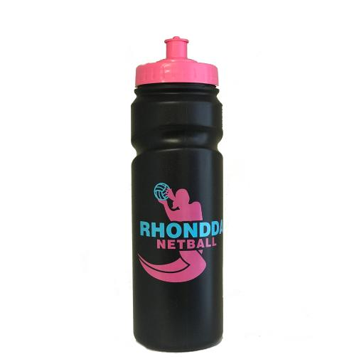 Rhondda Netball Waterbottle