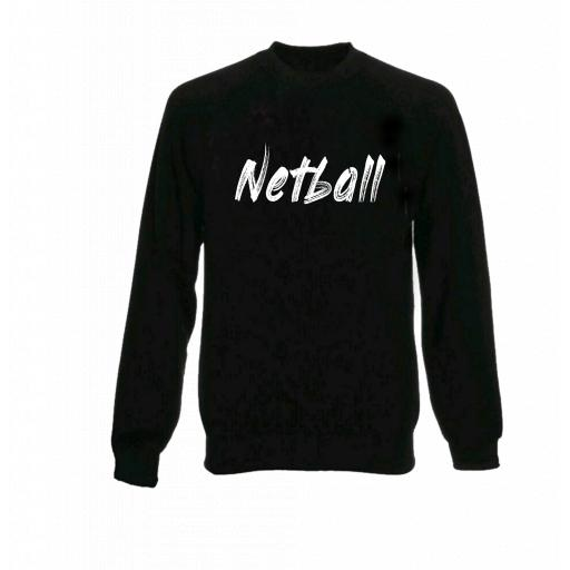 Junior Netball Jumper - White