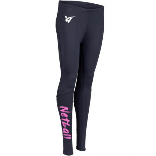 Junior Netball Leggings - Pink