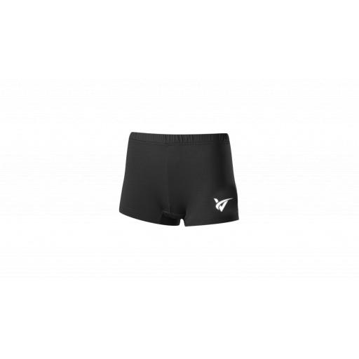 Junior Netball Undershorts - Black